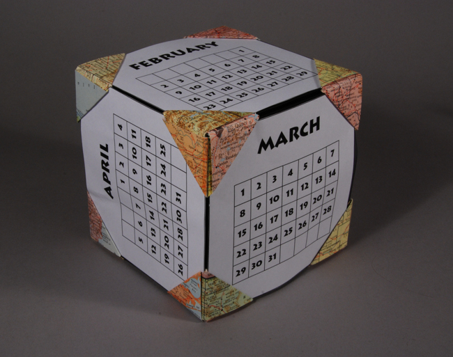 Diy Calendar Cubes : Learn more at mootepoints